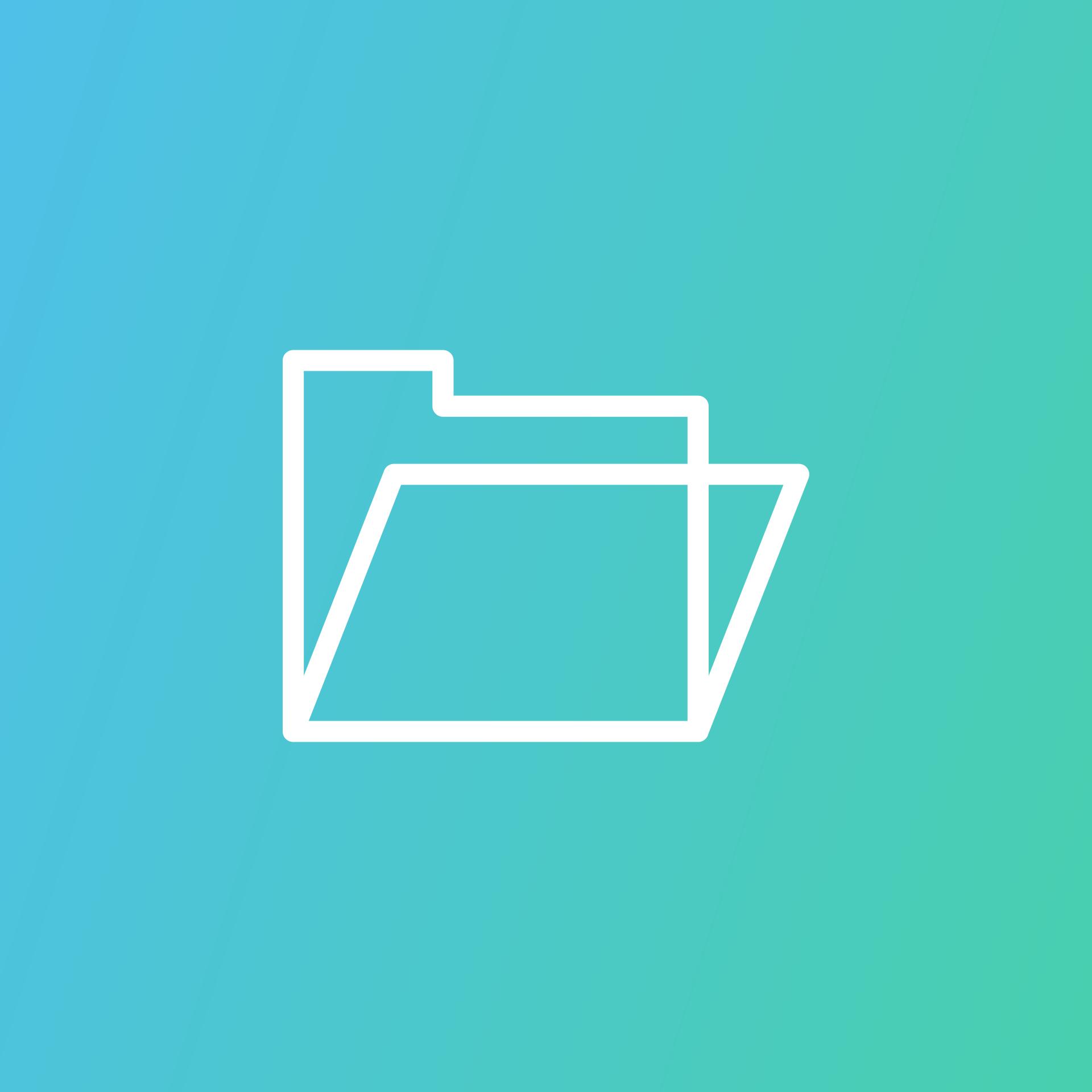 symbol folderu