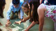 Interaktywna podłoga pomaga dzieciom z dysfunkcjami rozwoju