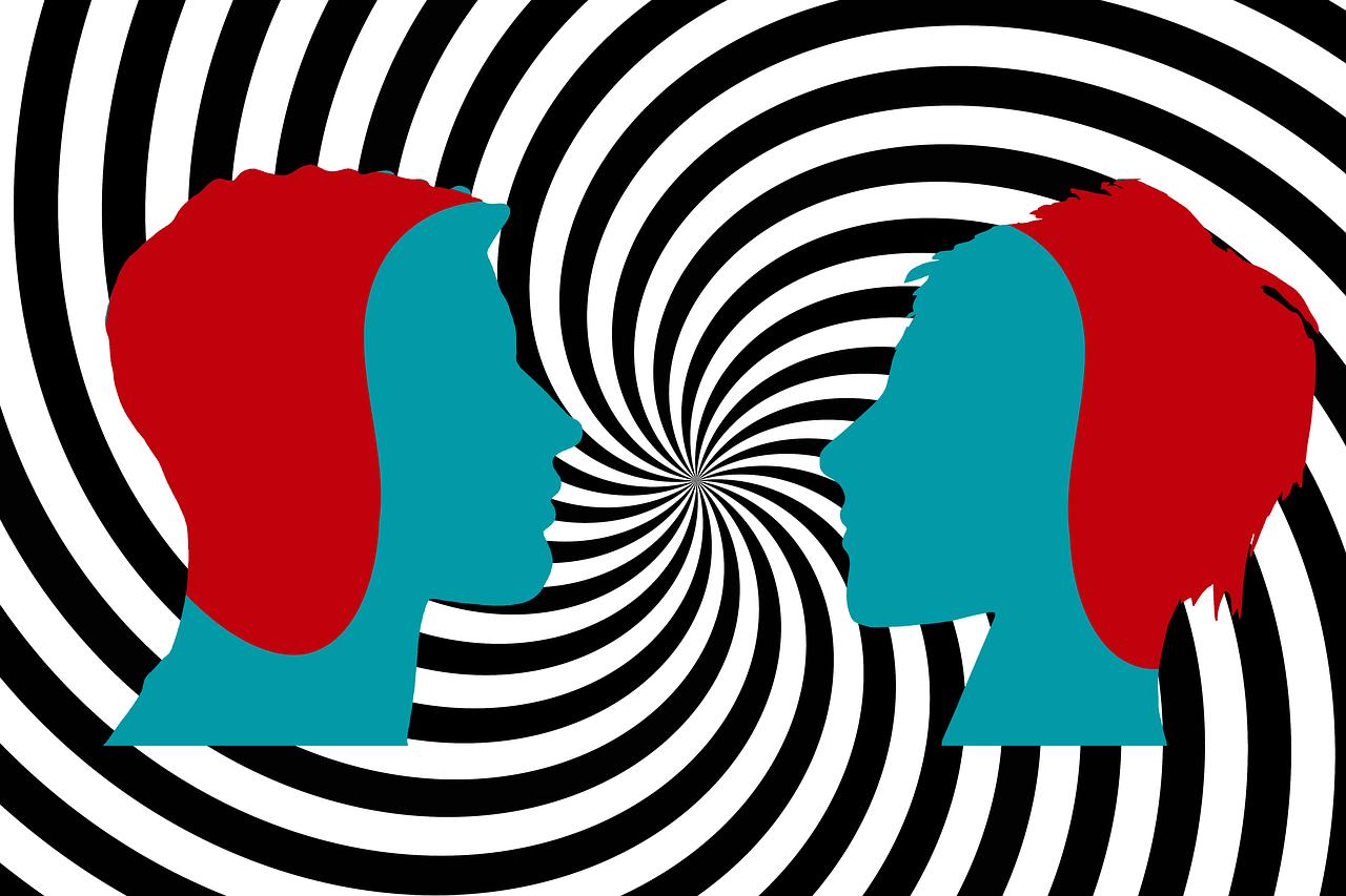 Abstrakcja - dwie głowy