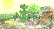 Bajka o kaktusie – warto pomagać innym mimo wszystko