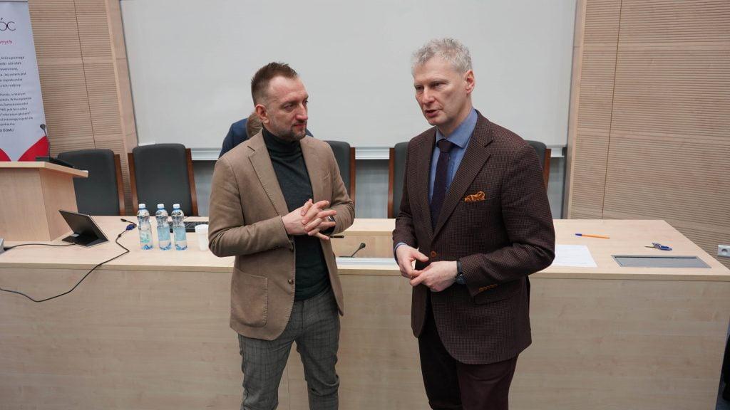 Prof. Remigiusz Kijak i prof. Zenon Gajdzica